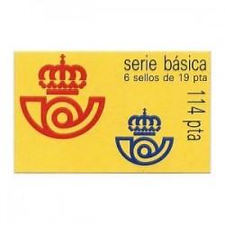 1986 Sellos de España (2834C I). S.M. D. Juan Carlos I.