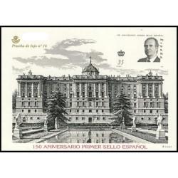 2000 Sellos de España (3711AC). Carpeta 150 Aniversario del Sello Español.