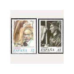 1997 Sellos de España (3502/03). Arte Español.