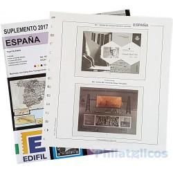 Suplemento Hojas Edifil España Pruebas 2017