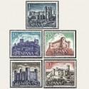 1970 España. Castillos de España. Edif.1977/81 **