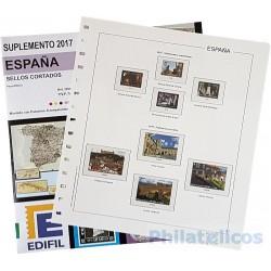 Suplemento Edifil España Sellos Cortados Procedentes de H.B. 2017