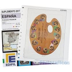 Suplemento Anual Edifil España Pliegos Premium 2017