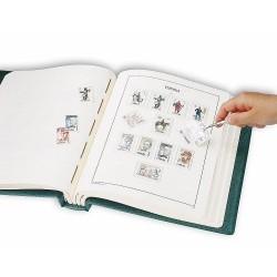 Álbum de sellos Leuchtturm España 1850/1939 (Monarquía y República)