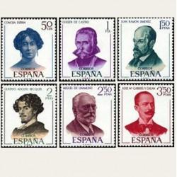 1970 España. Literatos Españoles. Edif.1990/1995 **