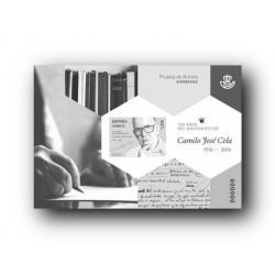 2017 Prueba Oficial 132. 100 años del nacimiento de Camilo José Cela. 1916-2016