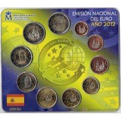 2012 España Euroset (carterita oficial)