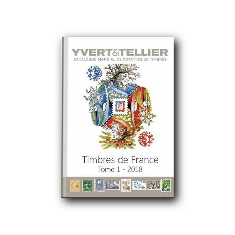 Catalogo de Sellos Yvert et Tellier Francia 2016