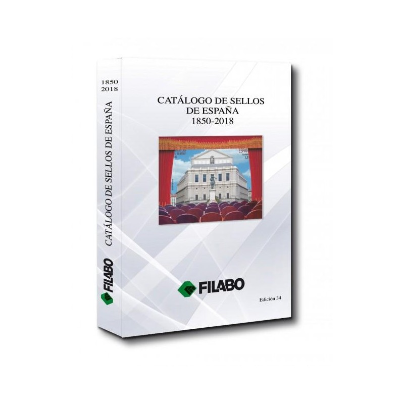 Catálogo de Sellos Filabo España 1850-2018