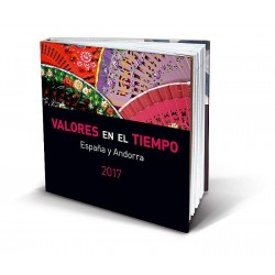 Álbum de sellos Correos España y Andorra 2016 sin sellos