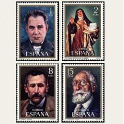 1971 España. Celebridades. Edif.2027/2030 **