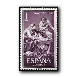 1961 Sellos de España (1400). Navidad.
