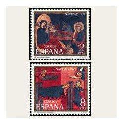 1971 España. Navidad. Edif.2061/62 **