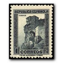 1938 Sellos de España (770). Monumentos y Autogiro.
