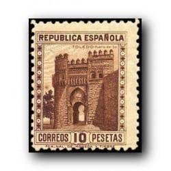 1938 Sellos de España (772). Monumentos y Autogiro.