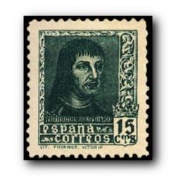 1938 Sellos de España (841A). Fernando El Catolico.**