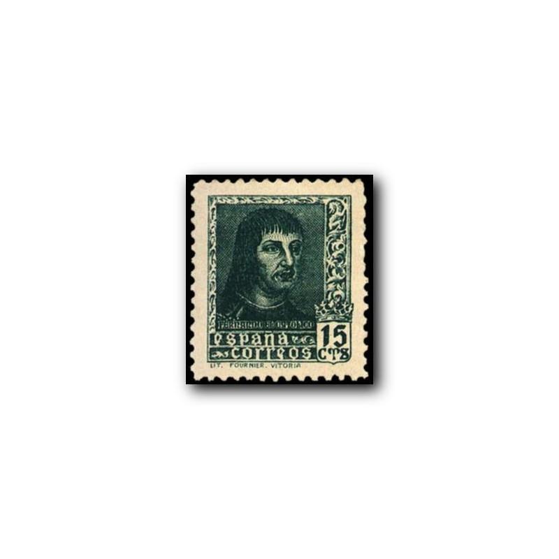 1938 Sellos de España (841). Fernando El Catolico.**
