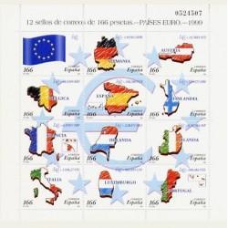 1999 España. Países Euro. Minipliego. (Edif.MP-63) **