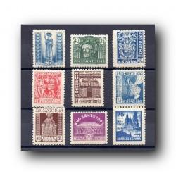 1943 Sellos de España (961/69). Año Santo Compostelano.**