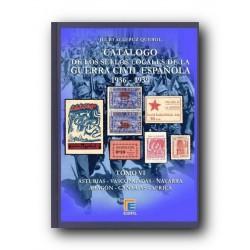 Catálogo de Sellos Locales de la Guerra Civil Española Tomo VI