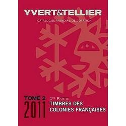 Catalogo de Sellos Yvert et Tellier Colonias Francesas 2011