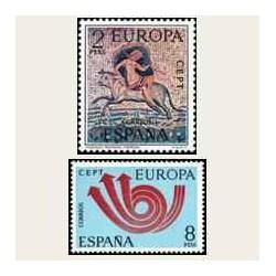 1973 España. Europa CEPT. Edif.2125/26 **