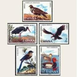1973 Sellos de España (2134/38). Fauna.