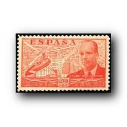 1939 Sellos de España (880/886). Juan de la Cierva.**