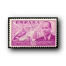 1939 Sellos de España (881) Juan de la Cierva.**
