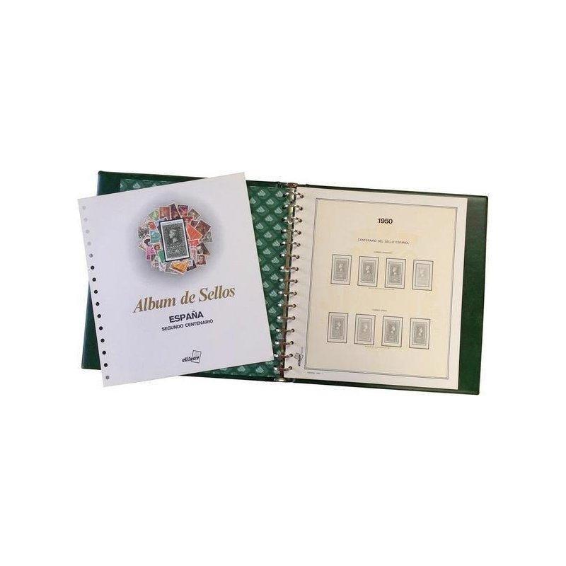 Álbum de sellos de España 2006/2010 (con filoestuches)