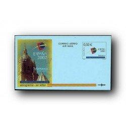 2002 España. Aerograma España 2002 Salamanca (Edif.225)**