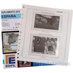 Suplemento Hojas Edifil España Pruebas 2018