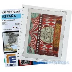 Suplemento Edifil España Pliegos Premium 2018