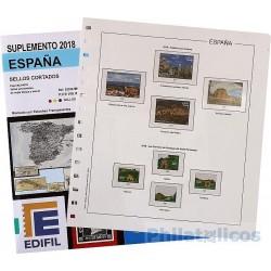 Suplemento Edifil España Sellos Cortados Procedentes de H.B. 2018
