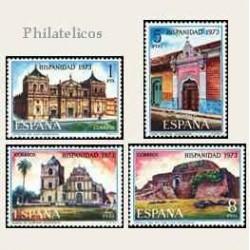 1973 Sellos de España (2154/57). Hispanidad.