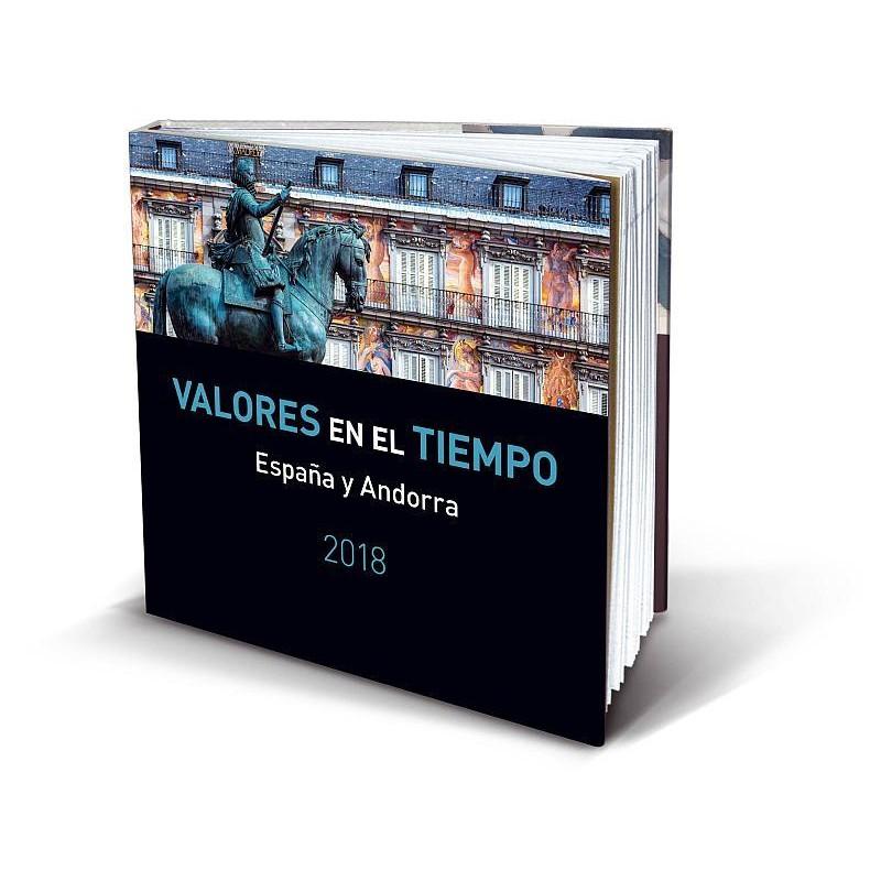 Álbum de sellos Correos España y Andorra 2017 sin sellos