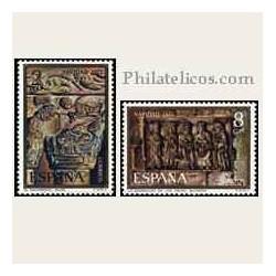 1973 España. Navidad. Edif.2162/63 **