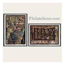 1973 Sellos de España (2162/63). Navidad.