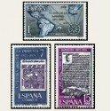 1973 España. V Cent. de la Imprenta. Edif.2164/66 **