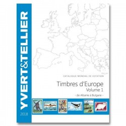 Catálogo de Sellos Yvert et Tellier Europa vol. I 2014 Albania-Bulgaria