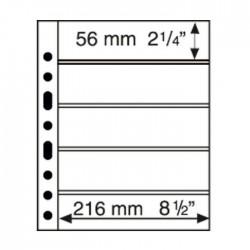 Hojas GRANDE 5S para sobres y tarjetas postales (5 unds.)