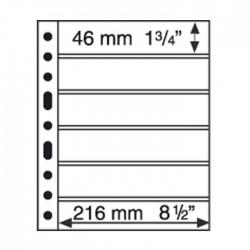 Hojas GRANDE 6S para sobres y tarjetas postales (5 unds.)