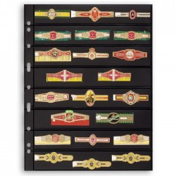 Hojas GRANDE 8S para sellos, sobres y tarjetas postales (5 unds.)