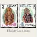1974 España. Europa CEPT. Edif.2177/78 **