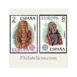 1974 Sellos de España (2177/78). Europa CEPT.