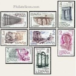 1974 Sellos de España (2184/91). Roma Hispania.
