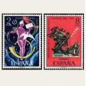 1974 España. Centenario de UPU. Edif.2211/12 **