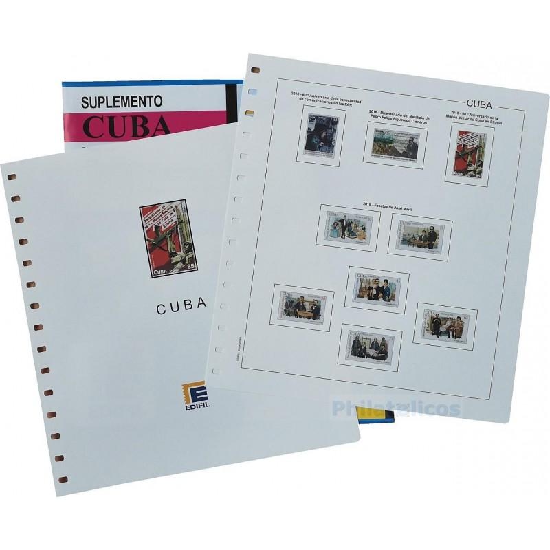 Suplemento Edifil Cuba 2012