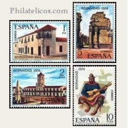 1974 Sellos de España (2213/16). Hispanidad.