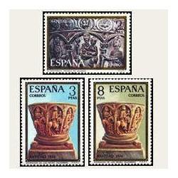 1974 Sellos de España (2217/19). Navidad.